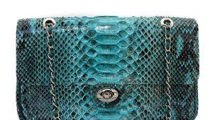 Женские сумки из кожи питона