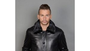 Зимние кожаные мужские куртки - тренд этого года