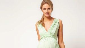Длинные платья для беременных