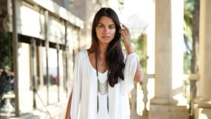 Красивое белое летнее платье 2019