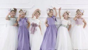 Красивое платье на выпускной в детский сад