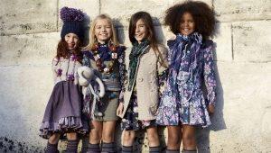 Красивые платья для девочек 8-9 лет