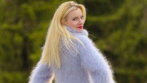 Модный и красивый свитер из мохера