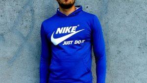 Мужские толстовки от Nike