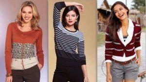 Отличия кофты, кардигана, свитера и жакета