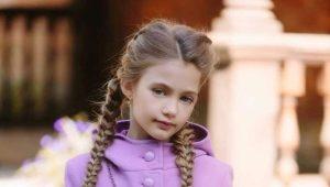 Пальто для девочек 7 лет