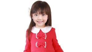 Платье с длинным рукавом для девочки