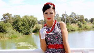 Платья в стиле стиляг – ярко и неординарно