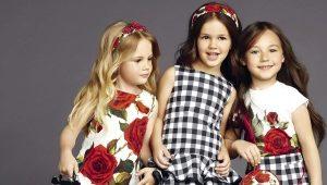 Яркие и легкие летние платья для девочек