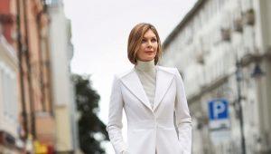 Женское пальто в пол