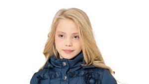 Демисезонное пальто для девочки на осень-весну