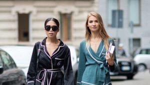Домашние пижамы-костюмы – модный тренд 2019 года