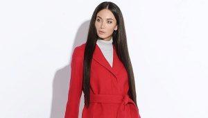 Красное женское пальто – для яркой личности!