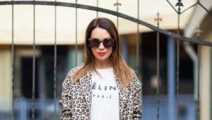 Леопардовое пальто - снова в моде
