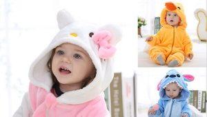 Махровые пижамы для детей