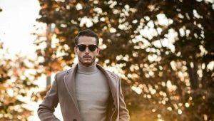Мужское осеннее пальто