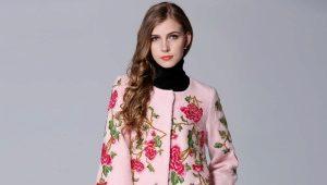 Пальто с вышивкой – лучший способ проявить индивидуальность