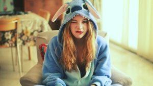 Пижама-кигуруми «Стич»