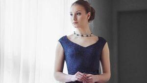 Популярные фасоны платьев 50-х годов