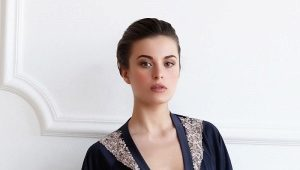 Женский халат с кружевом - соблазнительная роскошь