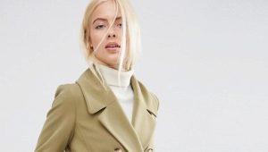 Женское приталенное пальто