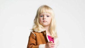Детские дубленки для девочек