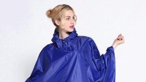 Дождевик-пончо - лучшая защита от дождя!