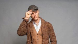 Классические мужские кепки