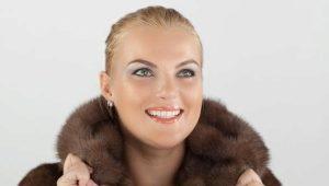 Норковые шубы больших размеров для полных женщин
