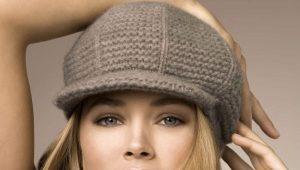 Осенние женские кепки