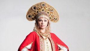 Русский народный русский костюм