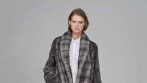 Серая шуба: модные оттенки и популярные модели