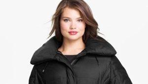 Зимняя куртка-парка для полных женщин