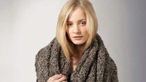 Большой и объемный шарф