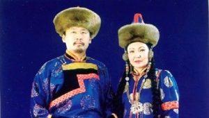 Бурятский национальный костюм