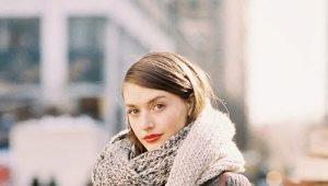 Как красиво повязать шарф на пальто – модные способы