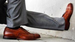 Как правильно сочетать цвет брюк и туфли?