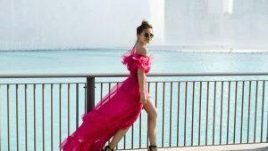 Какие туфли подойдут к розовому платью?