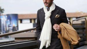 Мужские шарфы - модные тенденции 2017 года