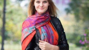 Платок, шарф или палантин - модные тенденции