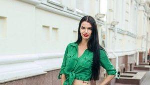 С чем носить зеленые босоножки?