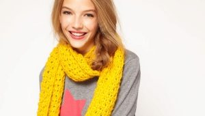С чем носить желтый шарф?