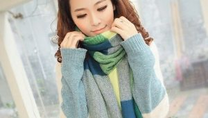 Стильный и теплый кашемировый шарф