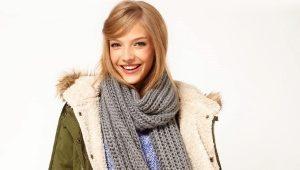 Вязаные шарфы – модные тенденции 2019 года