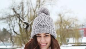 Зимний шарф - мода 2017-2018 года