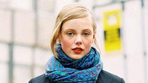 Как завязать шарф на куртку?
