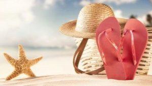 Резиновые сланцы или пляжная мода