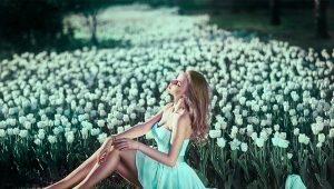 Цвета, сочетающиеся с мятным цветом в одежде
