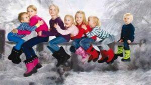 Финские детские сапоги