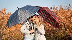 Как выбрать мужской зонт автомат?